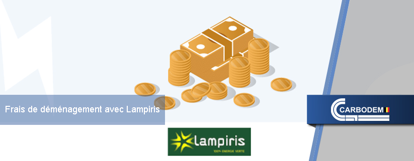 Les coûts d'un déménagement avec Lampiris