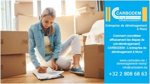 Comment concrétiser efficacement les étapes de pré-déménagement│ CARBODEM - L'entreprise de déménagement à Mons