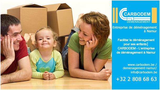 Faciliter le déménagement pour ses enfants│ CARBODEM - L'entreprise de déménagement à Namur
