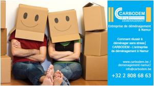Comment réussir à déménager sans stress│ CARBODEM - L'entreprise de déménagement à Namur