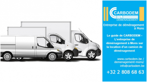 Le guide de CARBODEM - L'entreprise de déménagement à Mons sur la location d'un camion de déménagement