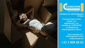Comment passer d'une maison à un appartement | Les conseils de CARBODEM - L'Entreprise de Déménagement à Mons